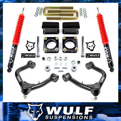 3 Full Lift Kit W/ Control Arms For 2007-2021 Toyota Tundra 4x4