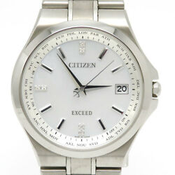 CITIZEN WATCH EXCEED CB1030-69A Eco-Drive Radio controlled Perpetual Calendar
