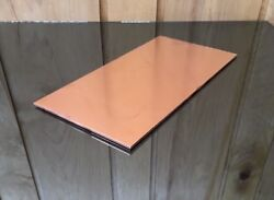 1/8 Copper Sheet Plate New 6x12 .125 Thick Custom 1/8 Sizes Available