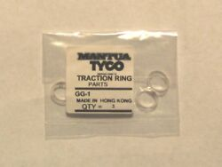 Gg1 Traction Tires For Tyco Gg1 Made In Hong Kong, 3 Tire Traction Ring Set New