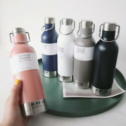 Thermal Water Bottle Portable Stainless Steel Vacuum Sports Flasks For Juice