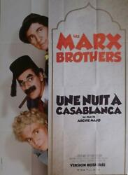 A Night In Casablanca - Marx Brothers - Reissue Large French Movie Poster