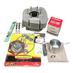 81-84 Honda Atc 250r 250 R Air Cooled Cylinder Jug Wiseco Piston Top End Gaskets