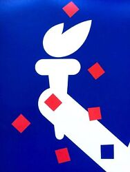Paul Rand Boston A New National Park 1975 Rare Poster Large - 28 X 42