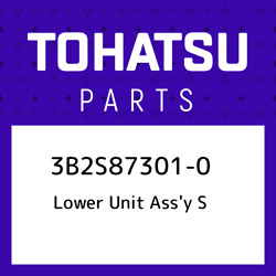 3b2s87301-0 Tohatsu Lower Unit Assand039y S 3b2s873010, New Genuine Oem Part