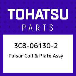 3c8-06130-2 Tohatsu Pulsar Coil And Plate Assy 3c8061302 New Genuine Oem Part