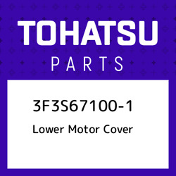 3f3s67100-1 Tohatsu Lower Motor Cover 3f3s671001 New Genuine Oem Part