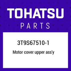 3t9s67510-1 Tohatsu Top Cowl 3t9s675101 New Genuine Oem Part