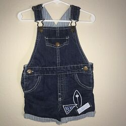 Baby Boys RORIE WHELAN Beach Island Life Overalls Rompers Size 18 Months
