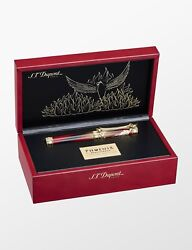 S.t. Dupont Phoenix Renaissance Limited Edition Fountain Pen, 241035, New In Box