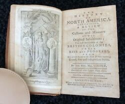 The History Of North America Paul Revere Engravings Text Richard Johnson 1795