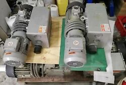 BUSCH RA0100F RA 0100 F Vacuum Pump, used, tested working