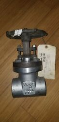 Vogt Gate Valve 2 Class 800 A182 F316/316l Stainless Steel Sw12401-09