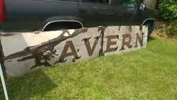 Porcelain Tavern Neon Skin 2 Piece United Sign Service Local Pickup Only
