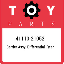 41110-21052 Toyota Carrier Assy, Differential, Rear 4111021052, New Genuine Oem