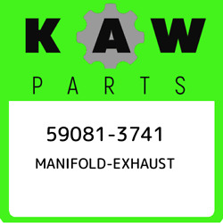 59081-3741 Kawasaki Manifold-exhaust 590813741 New Genuine Oem Part