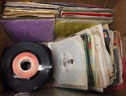 45rpm Vinyl Record Lot Of 165 Various Rock And Promos Full Artist List 45ame6db