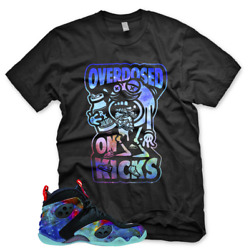 New Overdosed On Kicks T Shirt For Nike Zoom Rookie Galaxy Foamposite