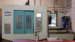 BROTHER TC-S2A-O W MIDACO PALLET CHANGER CHIP CONVEYOR CNC VMC MILL *VIDEO*