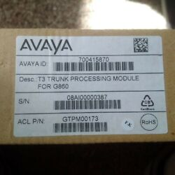 AudioCodesAvaya G860 T3 trunk board rear standby module 6310 series