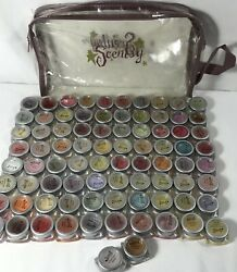 Scentsy Lot 82+bag Assorted Scents Testers Party Sample Consultant Supplies Box
