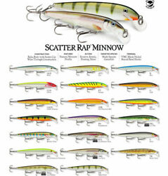Rapala Scatter Rap Minnow // Scrm11 // 11cm 6g Fishing Lures Various Colors