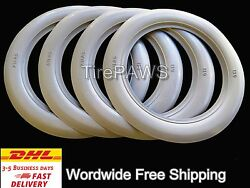 15 Wheel 3 Wide Atlas Tire Style Port A Wall White Wall Fit Ford Chevy Rat Rod