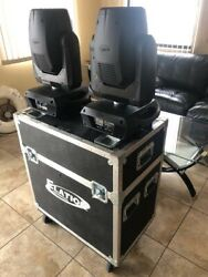 1 Pair Elation -  Platinum Beam 5R Extreme With Double Case Low Hours 1 of 4
