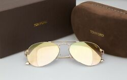 BRAND NEW TOM FORD GOLD ACE GOLD SUNGLASSES TF 551