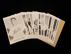 Set Of 12 1962 Jay Publishing New York Mets Picture Pack Photos - 1st Year