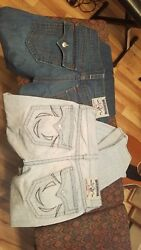 True Religion Straight Jeans 33 2 pairs   Drastically Reduced $$ Save $$