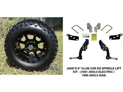 Club Car Ds Jakes 6 Spindle Lift Kit+ 12 Wheels And 23 At Tires