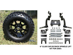 Club Car Ds Rhox 6 Spindle Lift Kit 2009+ + 12 Wheels And 23 At Tires