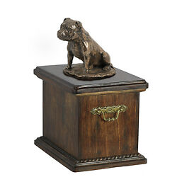 Staffordshire Bull Terrier Memorial Urn for Dog's ashes Cremation Urn memorial