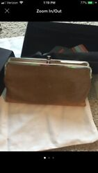 Hobo International Lauren Double Frame Clutch Wallet Purse