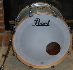 Pearl Session Studio Select 20 x 14 Bass Drum with Evans Head Ice Blue Oyster