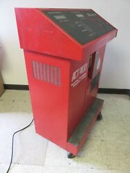 SNAP ON ACT 4100 RECYCLING  RECOVERY  RECHARGING REFRIGERANT SYSTEM