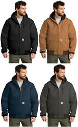 Quilted Flannel Lined Duck Active Jacket J140 Regular/tall Work Winter