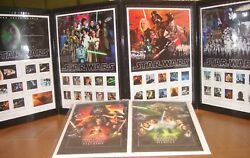 Star Wars, Special Stamp Set With Post Card, Sold Only In Japan 2017