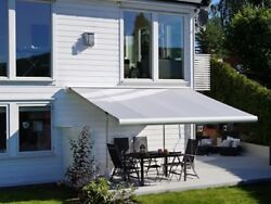 Stylish Retractable Garden/patio/ Awning With Remote Control - 3100 X 5000