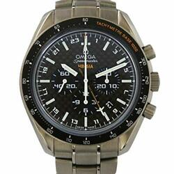 Auth OMEGA Speed Master - HB - SIA Co - Axual GMT Solar - Impulse Used Men's