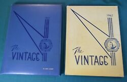 1962 And 1963 Hammondsport Central School New York Annual Yearbook The Vintage