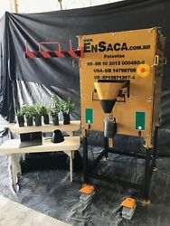 EnSaca Bagging Machine for Seeds Sand Sandbags Soil Fertilizer Pea Gravel