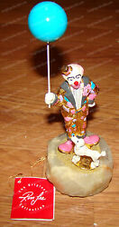Ron Lee World Of Clowns Collection Buster Too Poodle Pc100 1042/1500 1999