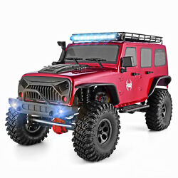 RGT 1:10 RC Car Crawler Scale 4wd Off Road Monster Truck Brushed Rock Hobby Toy