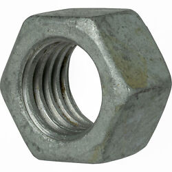 Galvanized Finished Hex Nuts Grade 2 Steel All Sizes Available In Listing