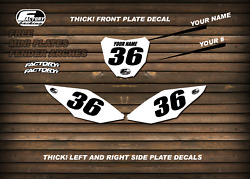 Factory Backing Custom Number Plate Backgrounds Your Number And Name Mx Graphics