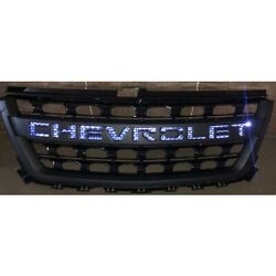 2015-2020 Colorado New Sport Back Lit Illuminated Grille Assembly In Black
