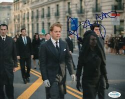 Peter Sarsgaard Signed Jackie Movie 8x10 Bobby Kennedy Acoa Authenticated