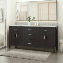 Greeley Contemporary 72 Wood Bathroom Vanity Counter Top Not Included